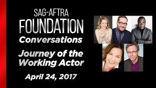 conversations journey of the working actor