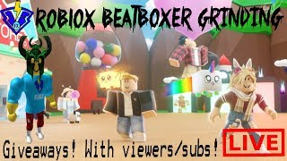 🔴 LIVE ROBLOX BEATBOXER MOAGEM/TRADING/GIVEAWAY BGS W/ESPECTADORES/SUBS STREAM (8/24/19)
