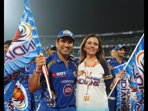 Nita Ambani & Sachin Tendulkar : The backbone of Mumbai Indians