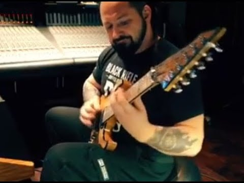 "Five Finger Death Punch in the studio! - The Absence ""Walking Shadows"" video!"