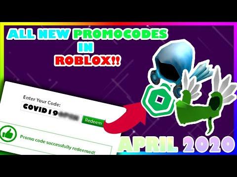 ALL NEW PROMO CODES in ROBLOX !!? (2020) APRIL 2020
