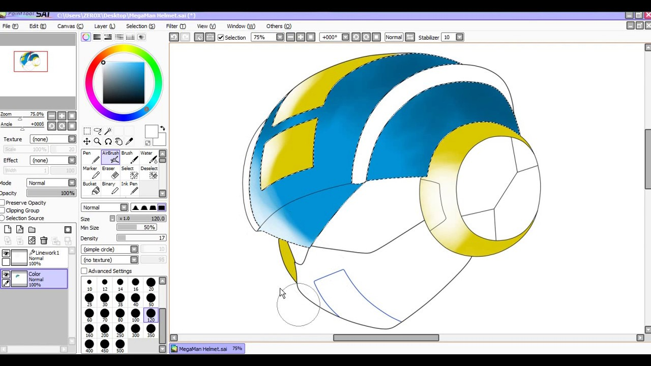 Paint tool sai duplicate layer | How to Draw a Background