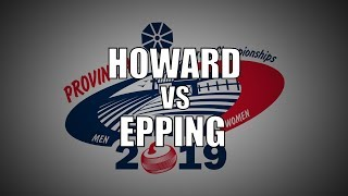 2019 ONT Tankard - Howard vs Epping
