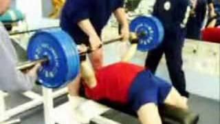 Andrey Butenko - bench press training 16 Feb 2003