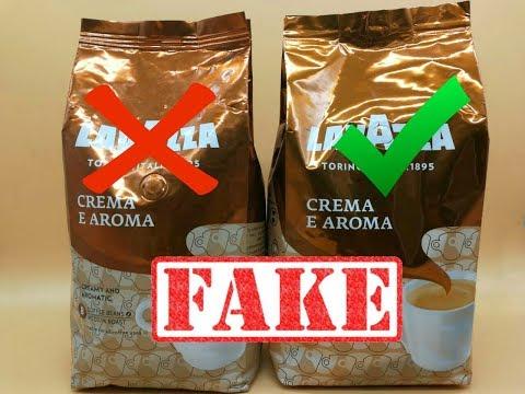 Кофе Lavazza Crema E Aroma, Как отличить подделку от оригинала.
