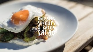 Quick and Easy Brussel Sprouts and Bacon Salad | Bondi Harvest