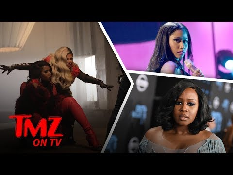 Lil' Kim & Remy Ma Vs  Nicki Minaj | TMZ TV