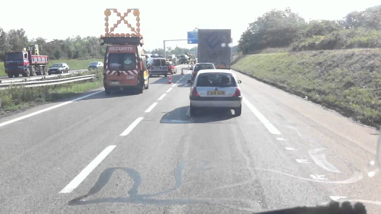 accident mulhouse ouest autoroute a36 france youtube. Black Bedroom Furniture Sets. Home Design Ideas