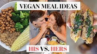 What A Vegan Couple Eats In A Day #6 | EASY VEGAN Recipes