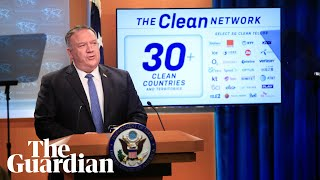 Pompeo: US removing 'untrusted' Chinese apps to protect Covid vaccine work