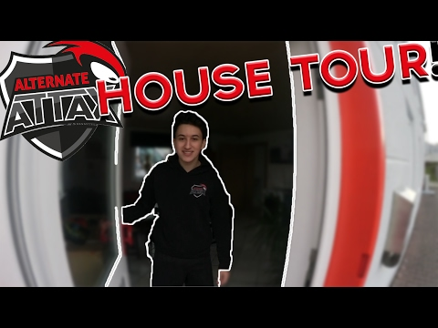 ALTERNATE aTTaX Gaming House Tour!!!
