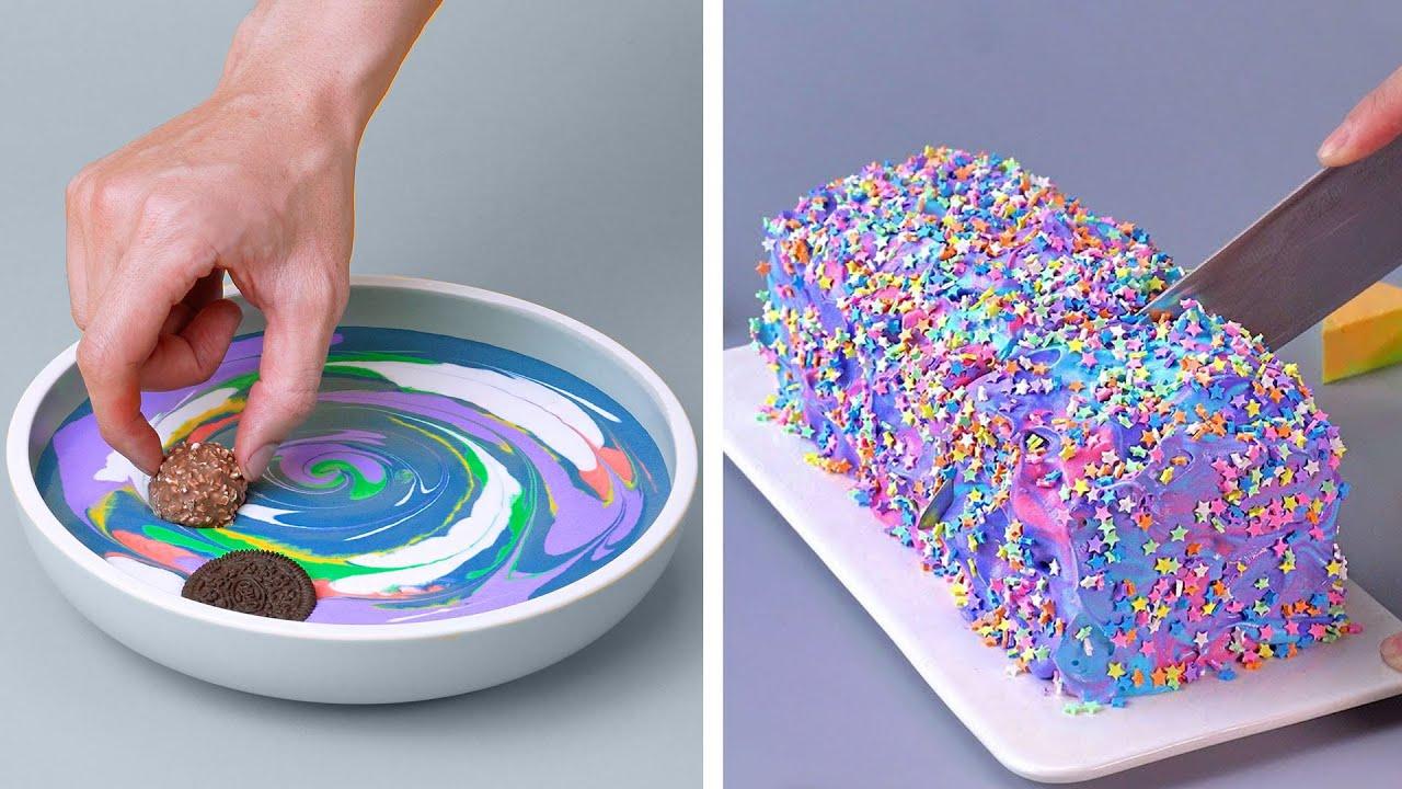 18+ Satisfying GALAXY Cake Decorating Ideas | Perfect Cake Decorating Tutorials #2