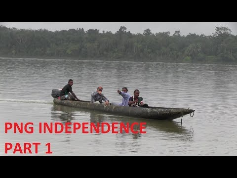 Papua New Guinea Independence Day PART 1