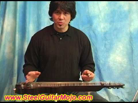 Lap Steel Guitar Blues Rock Leads C6 Demo