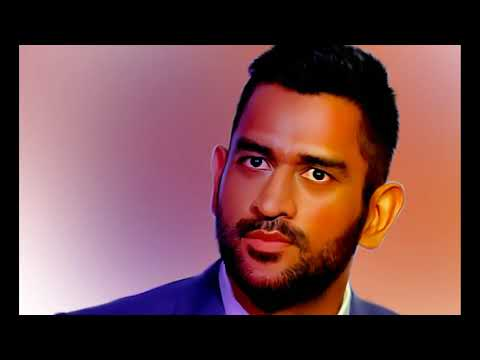 Indian Cricketer MS Dhoni  Smudge art II Time-lapse II Photoshop II Subscribe