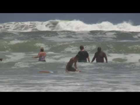 Rough Waves Daytona Beach