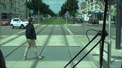 Tram Dijon ligne 2 Chenove Centre Valmy