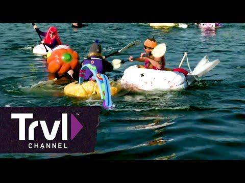 The Damariscotta Pumpkin Regatta - Travel Channel