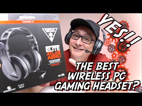 Turtle Beach Elite Atlas Aero Detailed Review, THE BEST WIRELESS PC GAMING HEADSET?