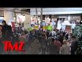 LAX -- Massive Protest Against 'Muslim Ban' | TMZ