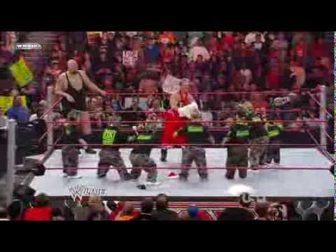 Hornswoggle Joins to DX WWE Monday Night