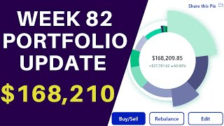 The Portfolio Is Now Paying Me Over $3,000 Dollars In Dividends  $89,652  Week 83 (5/9/21)