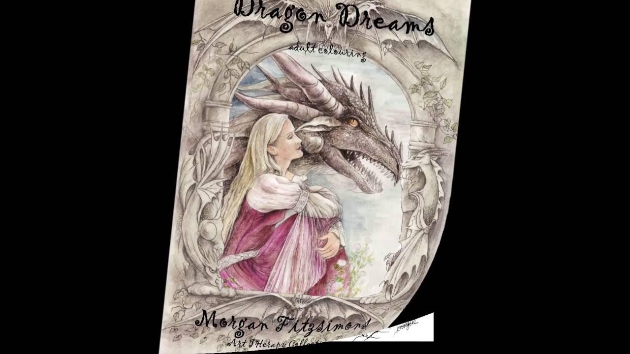 Dragon Dreams Colouring Book Preview