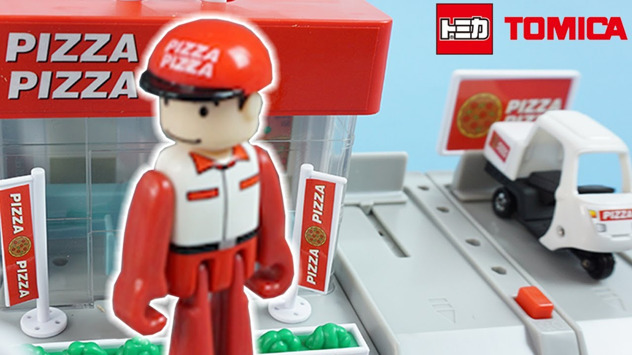 TOY UNBOXING - Tomy Tomica Pizza Delivery Toy | Best Toys For Kids 2017 | Toy Store - Toys for Kids