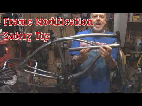 How Not To Modify Motorized Bicycle Frame- Safety Tip thumbnail
