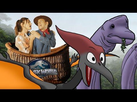 Jurassic World/A Whole New World - (Disney's Aladdin Parody)