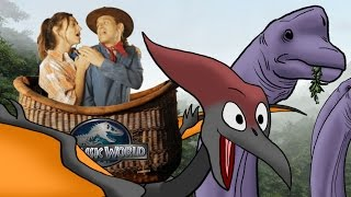 Jurassic World/A Whole New World - (Disney's Aladdin Parody)