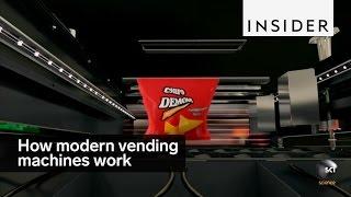 Modern vending machines