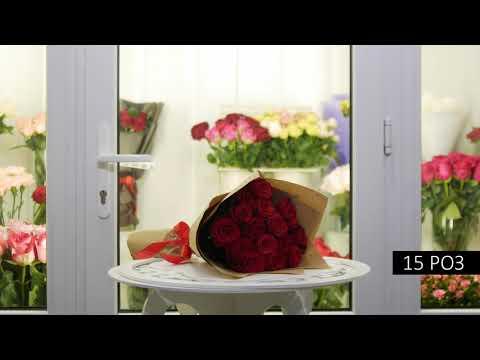 Красные розы купить с доставкой в Минске - Dolinaroz.by