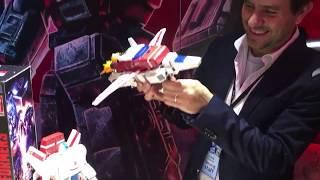 Transformers War for Cybertron Siege Jetfire (Commander Class) Demo - Toy Fair 2019
