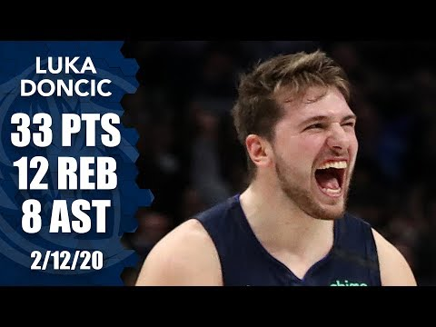 Luka Doncic Dominates In Return To The Court Vs. Kings   2019-20 NBA Highlights
