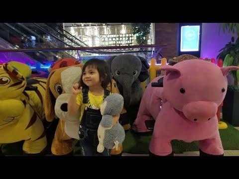 Seruuu !! Naik Odong Odong Kereta Api Gandeng di Mall Sama Ibu 💗 Aila Raka Channel from YouTube · Duration:  5 minutes 5 seconds
