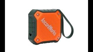 AncordWorks Waterproof Outdoor Bluetooth Speaker,IPX7 Water Resistance Built-in Mic