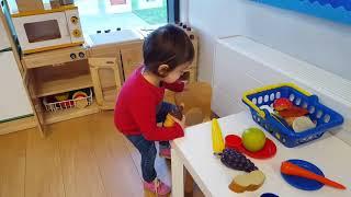Children play house /Cooking Pretend Play / Kids Kitchen
