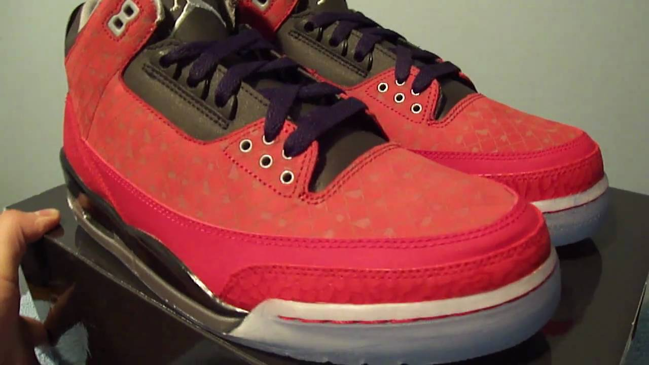 0aa9513c7d2 Nike Air Jordan 3 Retro Doernbecher III - YouTube