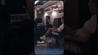 Нюша и Артём Качер на записи дуэта!