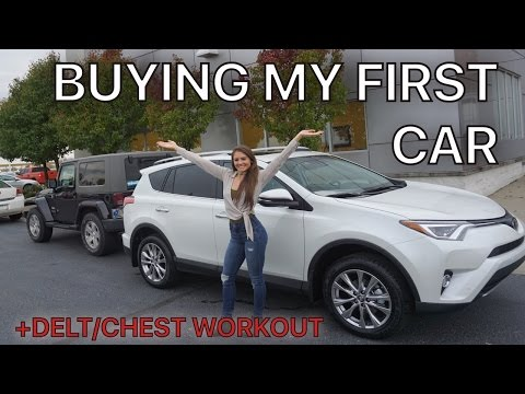 Buying My First Car   Delts/Chest/Core Workout   Grow Series ep. 30