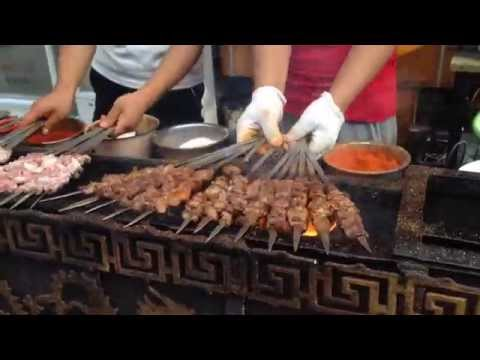 Street food in Mongolia !!