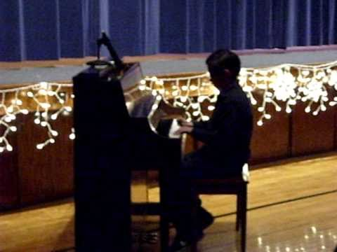 LeBoi Cruz Piano Recital Dec. 2010