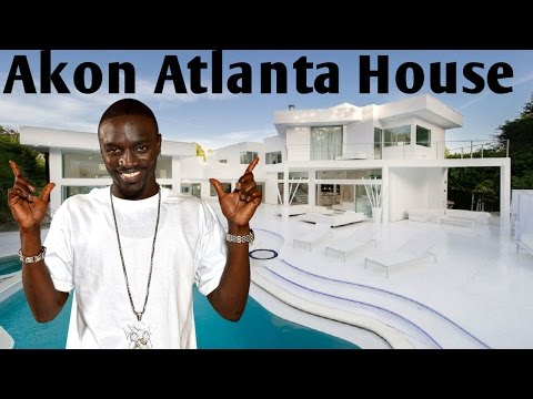 Akon Atlanta House 2017 | Akon's Atlanta Mansion $2.5M | Akon Net Worth 2017