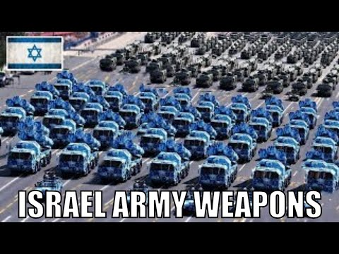 Israel Army Weapons 2018 (All Weapons)