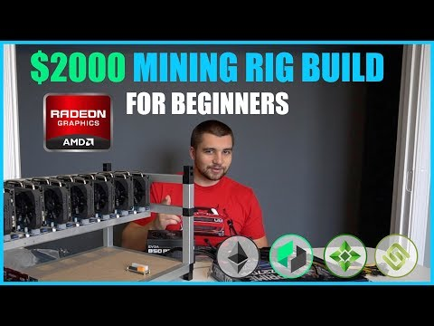How To Build Crypto Mining Rig W/ $2000 or LESS - Beginner Tutorial - ETH/ZEC/XMR