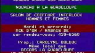 Le babillard électronique de Cogeco Câble au Câble 35 le 2 septembre 1991