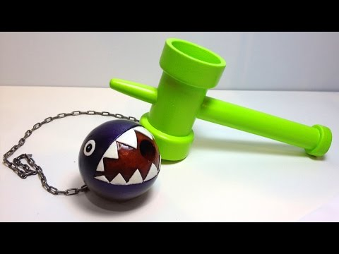 How to Make a Super Mario Chain Chomp KENDAMA