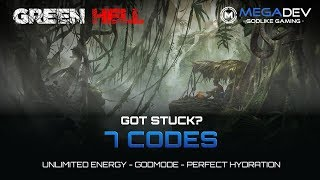 GREEN HELL CHEATS: Godmode, Perfect Hydration, ... | Trainer by MegaTrainer