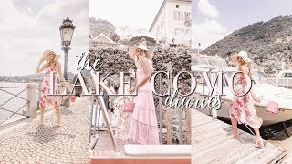 GUESS GIRLS IN LAKE COMO ~ TRAVEL DIARIES ~ Freddy My Love